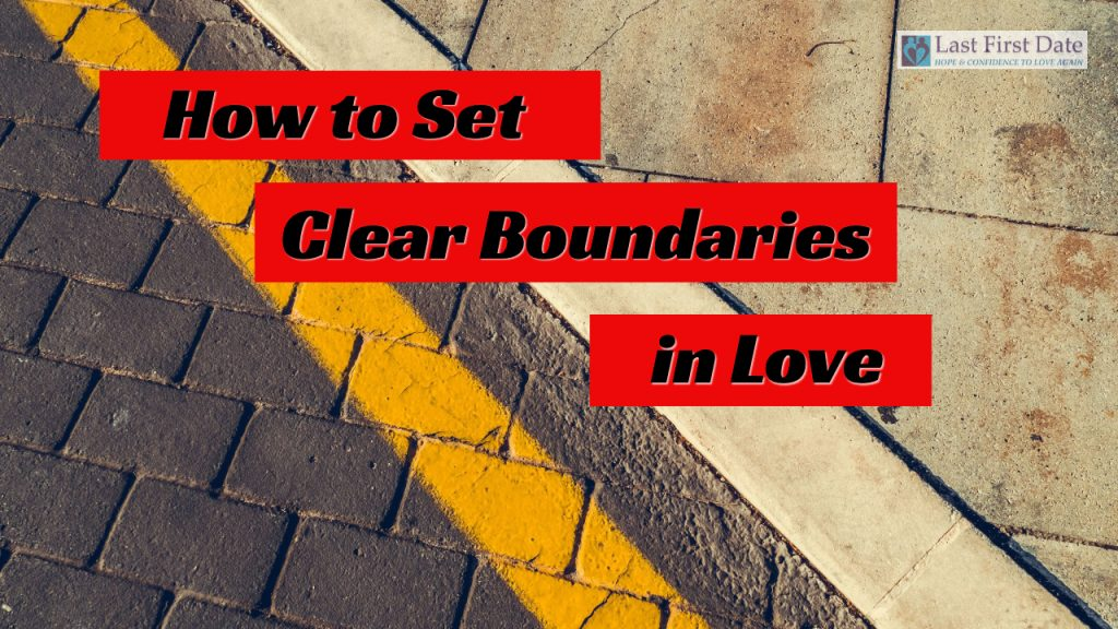 clear boundaries