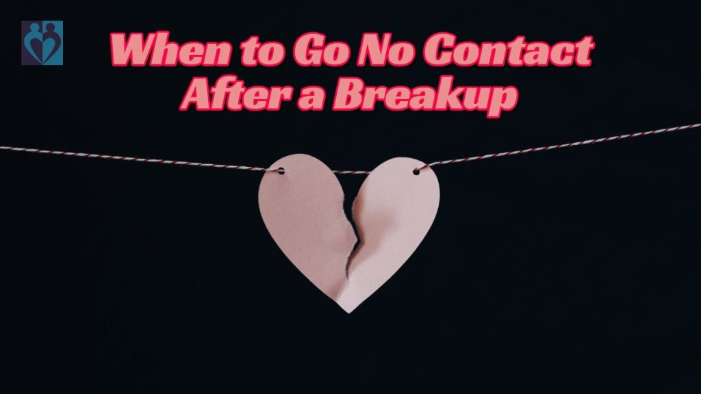no contact after a breakup
